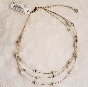 Jewelry - Gold Multi Strand Necklace F36